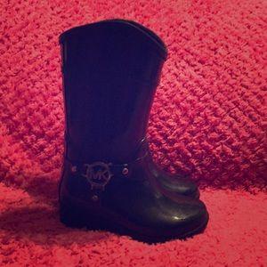 Michael Kors little girl boots size 8